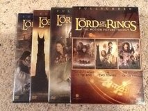 Lord of the Rings DVD Trilogy in Camp Lejeune, North Carolina