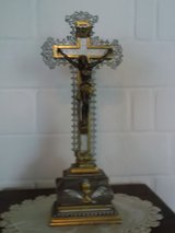 antique crucifix in Spangdahlem, Germany