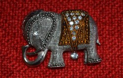 Elephant Brooch/pin in Naperville, Illinois